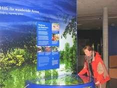Ausstellung im Multimar Wattforum an der Nordsee
