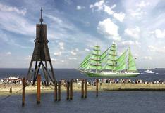 Blick in Cuxhaven auf den Weltschifffahrtsweg (Foto: Nordseeheilbad Cuxhaven GmbH)