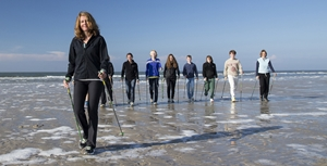 Nordic Walking am Strand